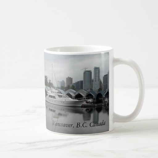 Boats in the Harbour - Vancouver, B.C. Mugs