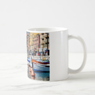 Boats in the port of Nice in France Coffee Mug