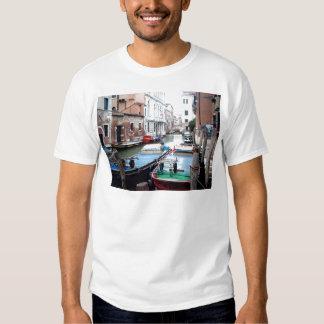 Boats in Venice T Shirt