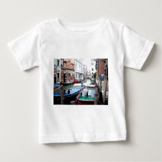 Boats in Venice Tee Shirt