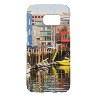 Boats Moored | Portland, Maine Samsung Galaxy S7 Case