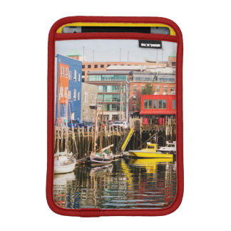 Boats Moored   Portland, Maine Sleeve For iPad Mini