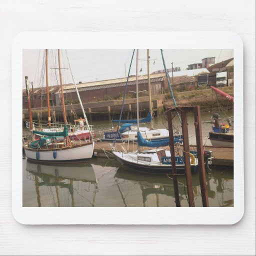 boats mouse pad