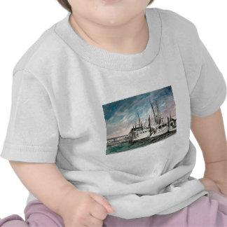 boats nautical art shirts