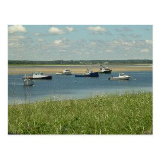 Boats-New England Postcard