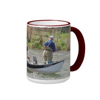 Boats No 18, Wraparound Fishing Mug #14 Montana