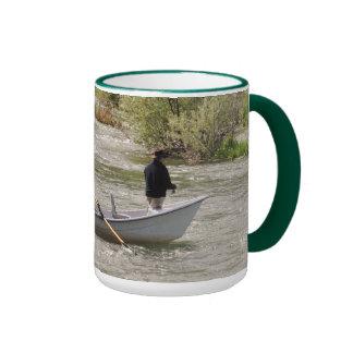 Boats No 9, Wraparound Fishing Mug # 15 Montana