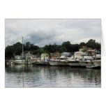Boats on a Cloudy Day Essex CT Cards
