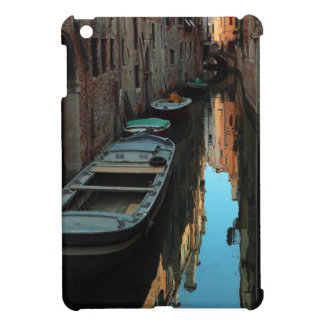 Boats on Canal Water Venice Italy Buildings iPad Mini Cases