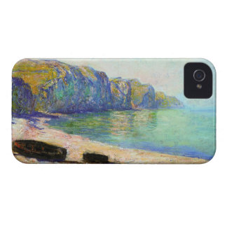 Boats on the Beach at Pourville Low Tide Monet Blackberry Bold Covers