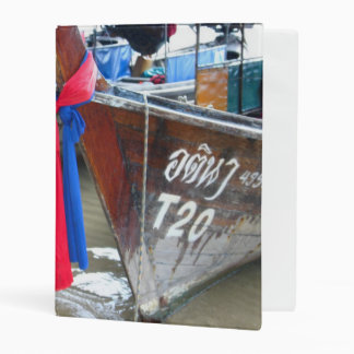 Boats On The Beach | Phi Phi Islands, Thailand Mini Binder