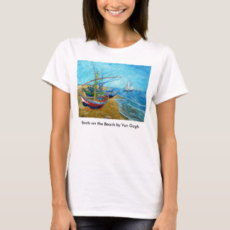 Boats on the Beach T-Shirt
