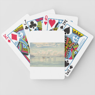 Boats on the Lac Leman by Francois Bocion Bicycle Playing Cards