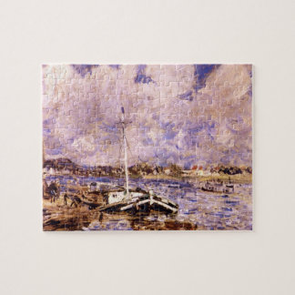 Boats on the Seine by Pierre Renoir Jigsaw Puzzles