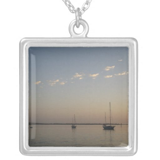 Boats on the Water Necklace