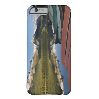 Boats parked on the lakeshore of Maligne Lake, Barely There iPhone 6 Case