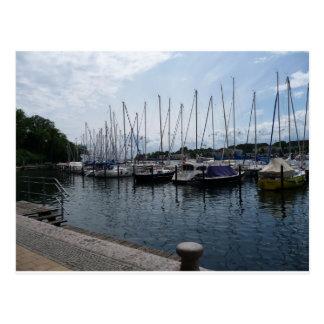 Boats! Postcard