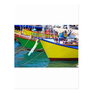 Boats Postcard