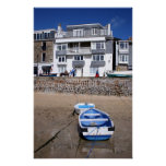 Boats St Ives Harbour Poster