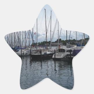Boats! Star Sticker