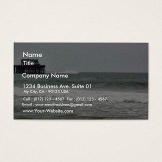 Boats Water Pier Ocean Business Card