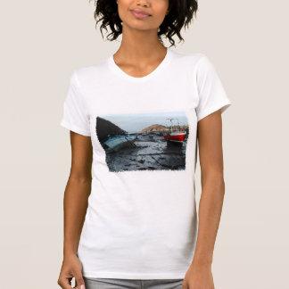 Boats. Watermouth, Devon, UK. Shirt
