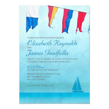 topinvitations Boats Wedding Invitations