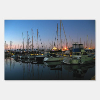 Boats Sign