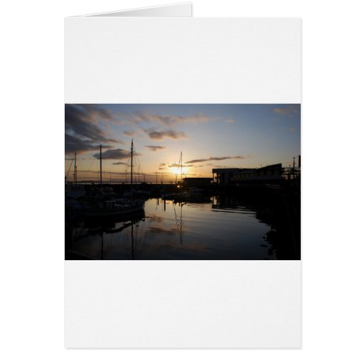 BoatsSunset041609 Cards