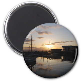 BoatsSunset041609 Magnets