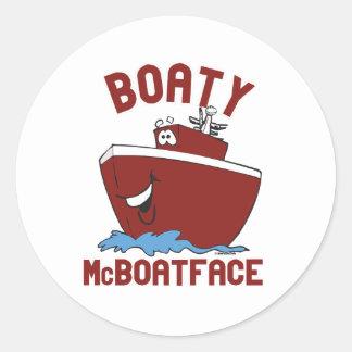 Boaty McBoatface Classic Round Sticker
