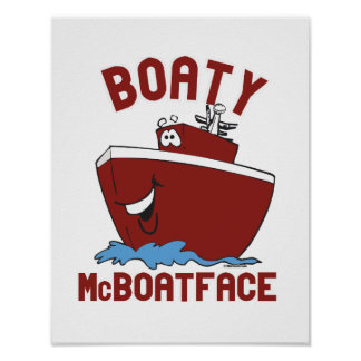 Boaty McBoatface Poster
