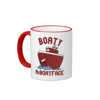 Boaty McBoatface Ringer Mug