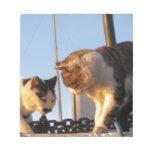 Boatyard Cats Notepad