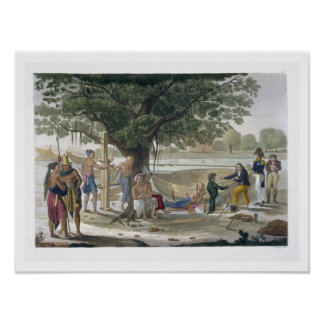 Boatyard near Kupang Timor plate 9 from Le Cost Posters