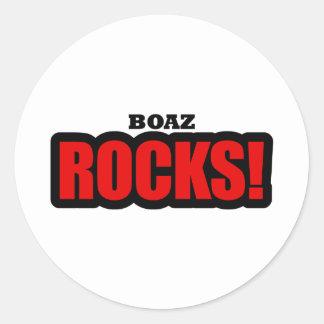 Boaz, Alabama City Design Classic Round Sticker