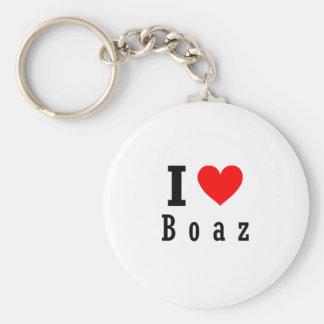 Boaz, Alabama City Design Keychain
