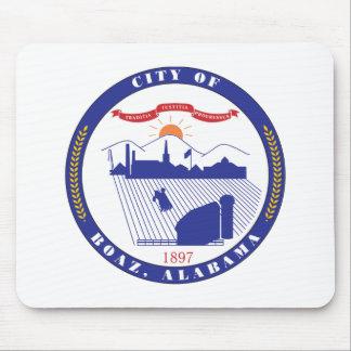 Boaz City Seal Mouse Pad