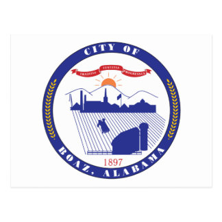 Boaz City Seal Postcard