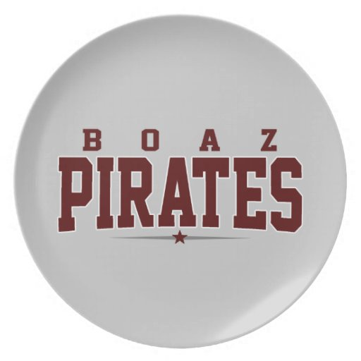 Boaz High School; Pirates Party Plates