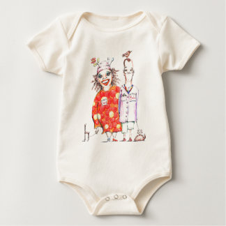 Bob and Claire de Lune for the Wee Ones Baby Bodysuit