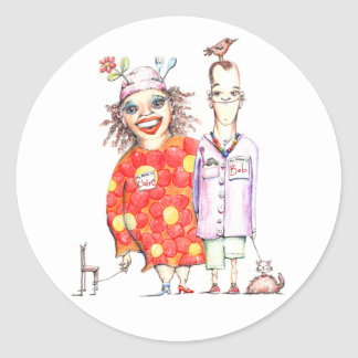 Bob and Claire de Lune stickers