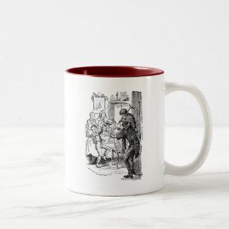 Bob and Tiny Tim Two-Tone Coffee Mug