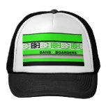 Bob band green mesh hat