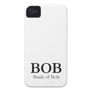 BOB Bank of Bob Case for Iphone 4
