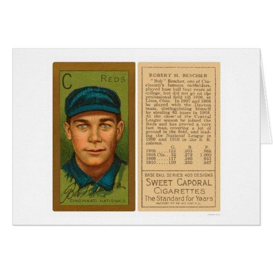 Bob Bescher Reds Baseball 1911 Card