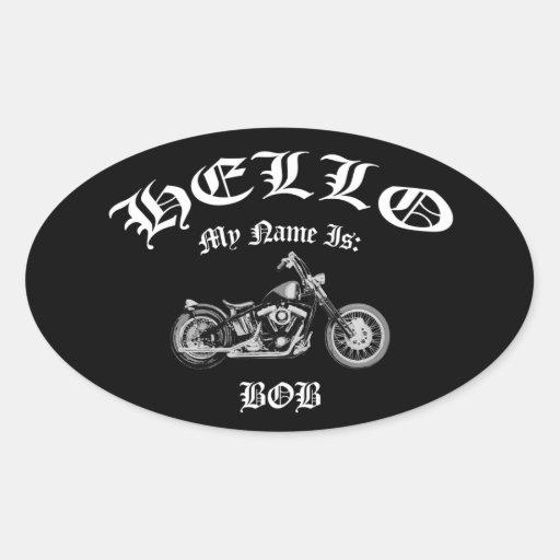Bob Bobber Oval Sticker