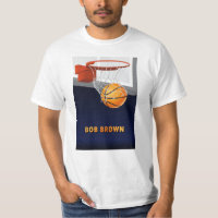 Bob Brown Basketball T-Shirt