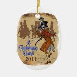 Bob Crachit y Tim minúsculo Ornamento Para Arbol De Navidad