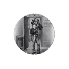 Bob Cratchit And Tiny Tim,  Christmas Carol Candy Tin at Zazzle
